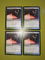 Favor of the Overbeing x4 Eventide 4x Playset Magic the Gathering MTG