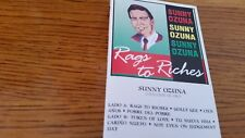 SUNNY OZUNA - RAGS TO RICHES - CASSETTE