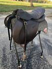 vintage english saddle Made In Argentina 17.5in