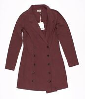 New Rhythm Livin Linen Clay Red Coat Jacket Size 4
