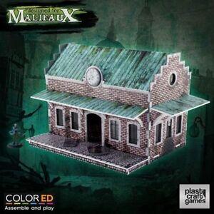 Malifaux Train Station Plast Craft Designed for Malifaux