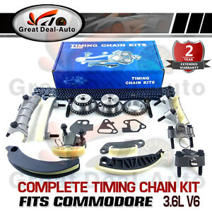 Timing Chain Kit Fit for Holden Rodeo RA Alloytec LCA 3.6L V6 GEARS GASKETS SET