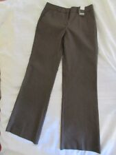 New York & Company Womens Pants, Summer Stretch, Brown, Flare Leg, Size 2