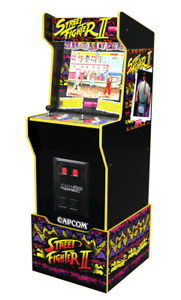 Arcade1Up | UK EXCLUSIVE | Street Fighter Capcom Legacy Edition with 12 Games