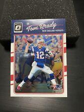 2016 Donruss Optic Tom Brady *First Year* Beautiful Football Card #62 MINT!