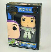 Funko POP PIN BUZZ LIGHTYEAR Toy Story Pixar Disney RARE Large Enamel Pin Wave 1