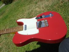 Fender Custom Shop 60's 1960's Telecaster Journeyman Relic Dakota Red
