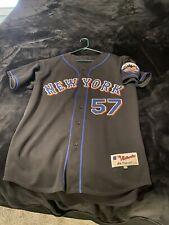 New York Mets Johan Santana Jersey Sz 48 XL Used Read Description