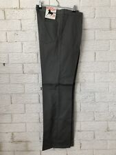 Black Stallion Brand Mens Work Pants Cotton Grey Size 5 67R