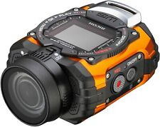 RICOH Action Camera WG-M1 8286 Orange Waterproof Wide Angle NEW