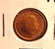 CIRCULATED 1972 1 CENT NETHERLANDS COIN (72216)2