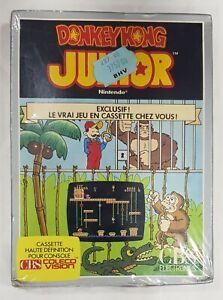 Donkey Kong Junior CBS COLECOVISION de NINTENDO NEUF NEW VERSION FRANCAISE.