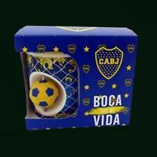 BOCA JUNIORS - CERAMIC CUP WITH ROTATING BALL - Argentina Soccer fe17f70e71181