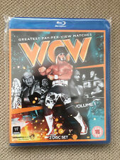 WWE WCW Blu Ray NEW & SEALED Greatest WCW Pay-Per-View Matches 2 Disc Set
