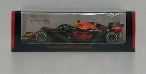 Model 1:43 Car F1 Spark Red Bull Honda RB16 Verstappen 2020 Diecast Static