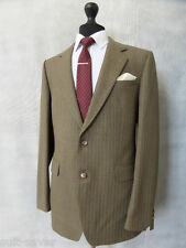 Men's Gainsborough Green Vintage 2 Piece Suit 42R W38 L31 CC1521