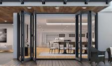 "Eris Bi-fold Doors - Folding patio Door - Size 96"" x 96"" in Stock"