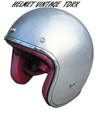 CASQUE BOL 3/4 VINTAGE MOTORCYCLE SCOOTER CASCO VESPA HELMET SIZE XL