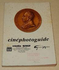 Catalogue Cinéphotoguide GRENIER NATKIN 1970 : ALPA - LEICA - BRONICA - BEAULIEU