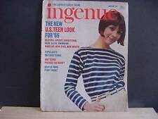 Vintage January 1965 Issue INGENUE Magazine For Sophisticated Teens