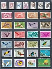 BIRDS Thematic STAMP Collection including ICELAND IFNI INDIA Mint Used Re:T660