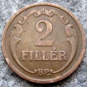 HUNGARY 1928 BP 2 FILLER