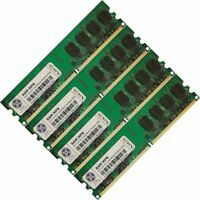8GB 4x2GB Memory RAM Desktop PC DDR2 PC2 6400 800 MHz 240 Pin Non ECC Unbuffered