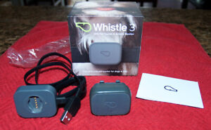 Whistle 3 GPS Pet Tracker & Activity Monitor Gray