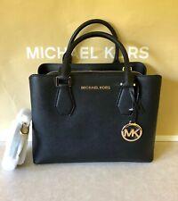 NWT Michael Kors Camille Medium Satchel Leather Shoulder Bag Tote Purse