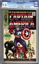 Captain America #100 CGC 9.8 1968 Boston Pedigree! D12 1 cm