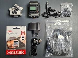 ZOOM F1 Recorder • Interview-Kit mit 2 Mikrofonen, Windschutz, SD-Card und mehr!