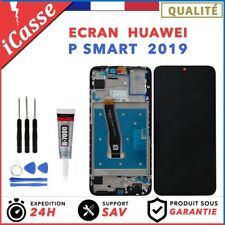 Ecran Complet Avec Frame Huawei P Smart 2019 POT-LX1 + Chassis + COLLE + Outils