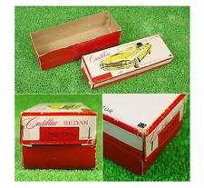 Tin Toy Bandai Cadillac Sedan Friction 1960s Vintage made in Japan with Box 483