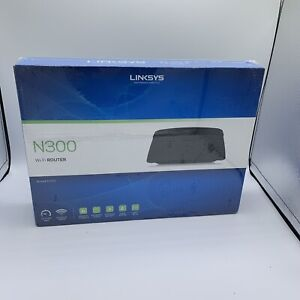 Linksys E1200 N300 Smart Wi-Fi Wireless Router E1200 300Mbps 4 Ethernet Ports
