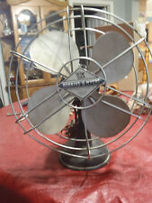 """vintage electric fan robin & meyers with cast iron base 10"""""""