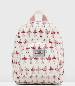 Cath Kidston Medium Backpack Pink Ballerina Girls Primary School Nursery *sizing