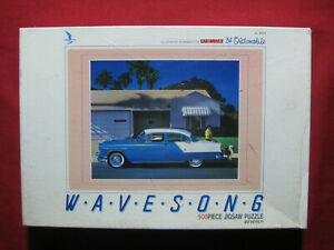1954 Oldsmobile 500 Piece Jigsaw Puzzle Vintage Japan 49cm x 36cm Wavesong