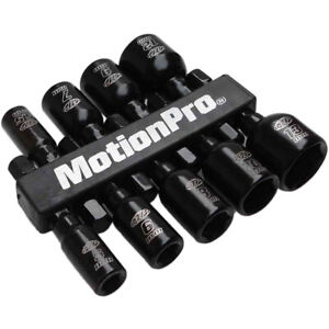 "Motion Pro  Mx Motocross Motorcycle 1/4"" Hex Socket Magnetic Nut Driver Set"