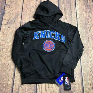 NBA Youth Boys Small 8 New York NY Knicks Pullover Sweatshirt Hoodie NEW