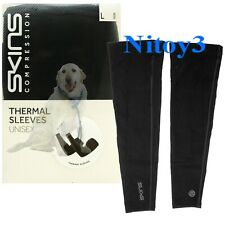 Skins Essentials Thermal Compression Arm Sleeves Unisex Large Pair  (P3)