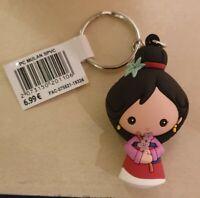 PORTE CLES / Keychain Disneyland Paris MULAN PVC SOUPLE