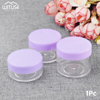 10g 15g 20g Travel Containers Clear Plastic Cosmetic Cream Jar For Toiletries F