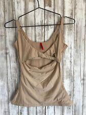 $72 Spanx Slimplicity Shaper Top Camisole Tank Adjust-a-bust Nude Beige L Large*