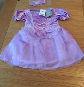 BabyDisney @ George Princess Tangled Rapunzel Fancy Dress Outfit 12-18 Months