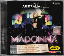 MADONNA Live In Australia MALAYSIA Edition VIDEO CD RARE NEW SEALED