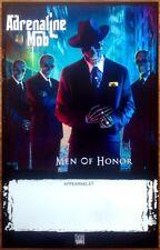 ADRENALINE MOB Men Of Honor Ltd Ed Discontinued RARE Poster +FREE Metal Poster!