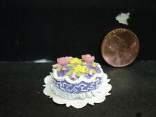 DOLLHOUSE FANCY EASTER EGG CAKE
