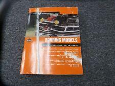 2002 Harley Davidson Road King Electra Glide Motorcycle Owner Manual User Guide