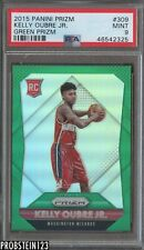 2015-16 Panini Prizm Green #309 Kelly Oubre Jr. Wizards RC Rookie PSA 9 MINT
