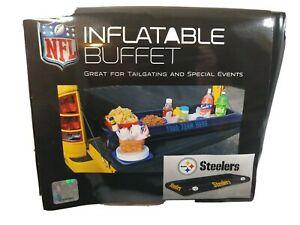 Inflatable Buffet Party Tailgate Pittsburgh Steelers  unused in package